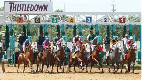 Thistledown-corrida